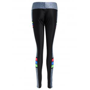 Clock Block Colorful Sports Pants -