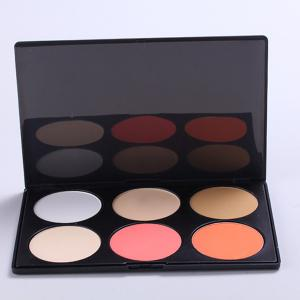 Palette de maquillage 6 couleurs -