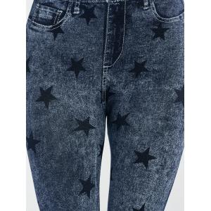 Star Pattern Jeggings -
