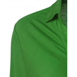Plus Size Ruched Shirt -