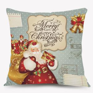 Christmas Santa Claus Cushion Throw Pillow Case