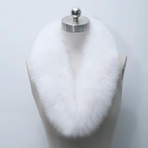 Faux Fur Collar Scarf