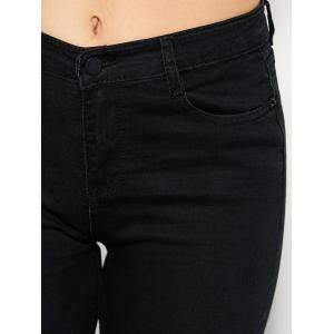 High Rise Ponte Jeans -