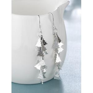 Christmas Tree Drop Earrings -