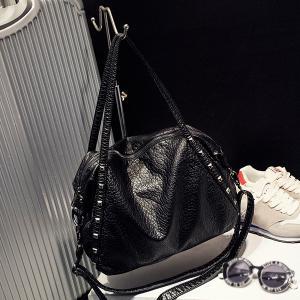 Studded Shoulder Bag -