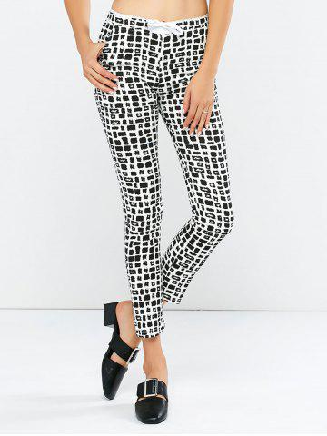 New Plaid Bodycon Pants