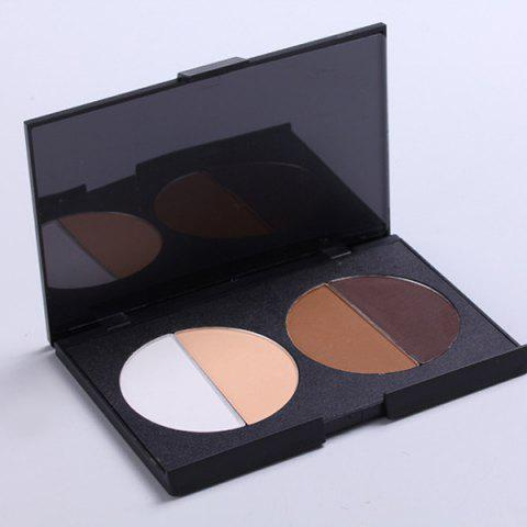 Unique Highlighter Bronzing Powder Palette