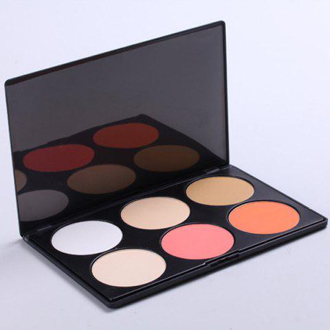 Palette de maquillage 6 couleurs