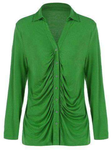Buy Plus Size Ruched Shirt