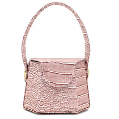 Cheap Hexagon Shaped Crocodile Embossed Tote