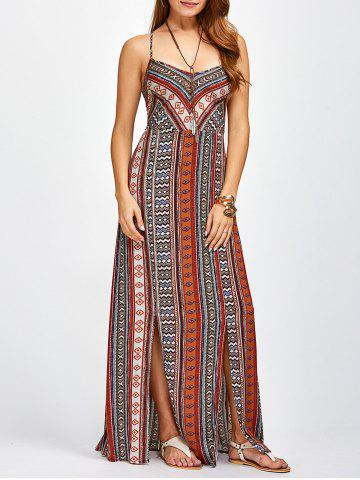 Latest Strappy Sweetheart Neckline Maxi Bohemian Dress