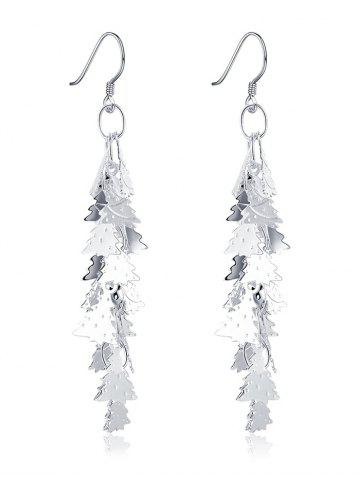 Store Christmas Tree Drop Earrings