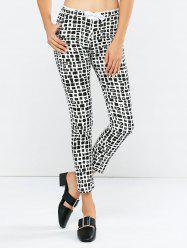 Plaid Bodycon Pants -