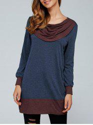 Elbow Patch Contrast Trim T-Shirt