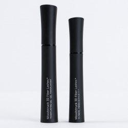 2 Pcs Waterproof Lengthening Curling Mascara - BLACK