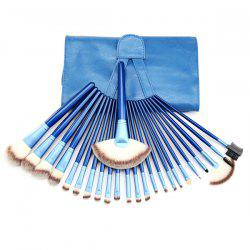 24 Pcs Facial Makeup Brushes Set with Brush Bag