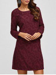 Ethnic Style Printing A Line Dress -