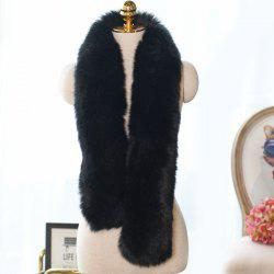 Faux Fur Long Scarf