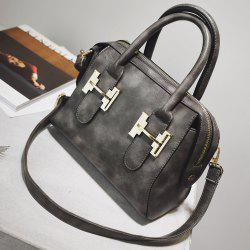 Metal Zip Handbag