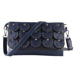 Rivet Flap Crossbody Bag
