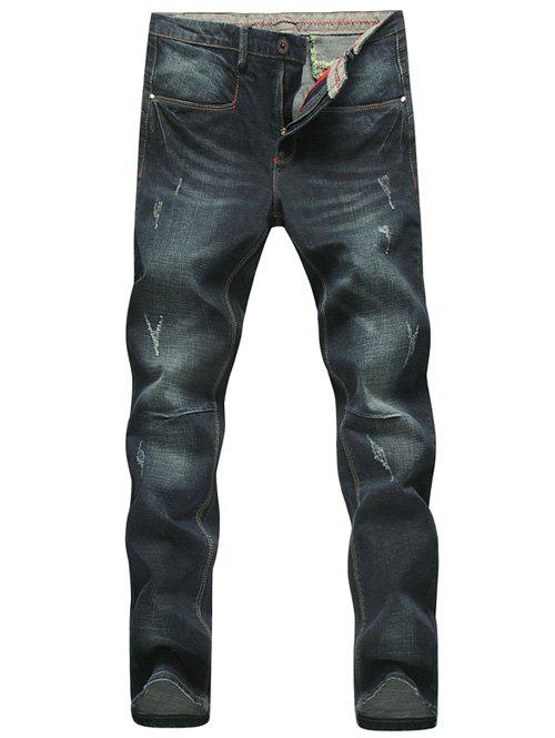 Jean coupe skinny grande taille