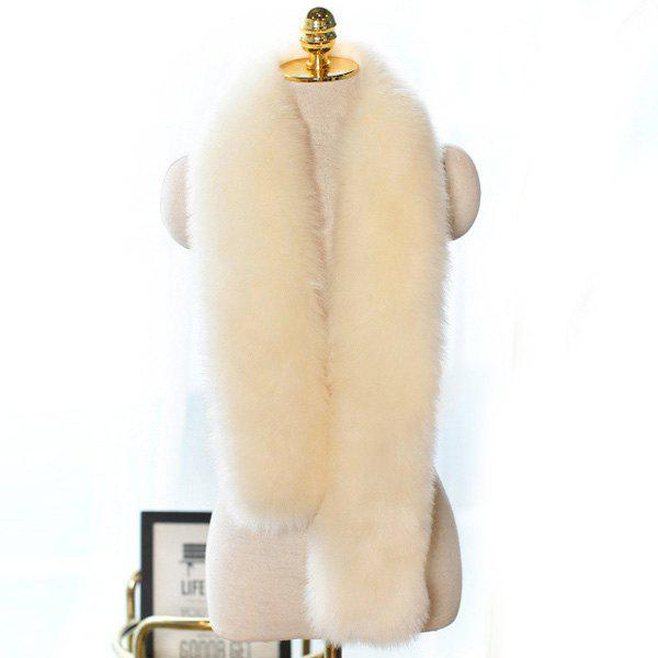 Affordable Faux Fur Long Scarf