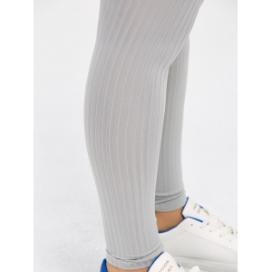 Plus Size Solid Color Skinny Leggings -