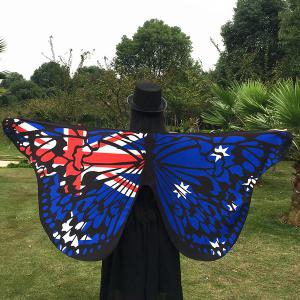 Outdoor Australian Flag Butterfly Scarf