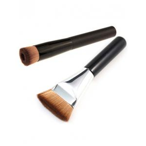 Contour Brush + Concave Foundation Brush - Black