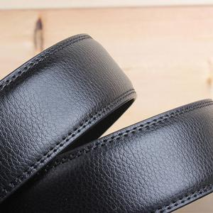 Stylish Smooth Surface Automatic Buckle Wide Formal Belt -