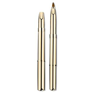 Retractable Eyeshadow Brush Lip Brush - GOLDEN