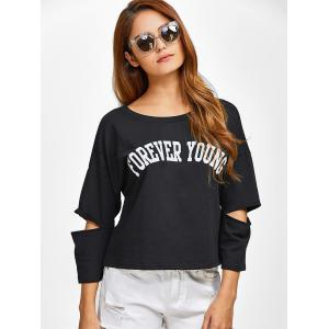 Cut Out Forever Young T-Shirt -