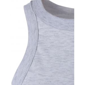 Racerback Crop Top -