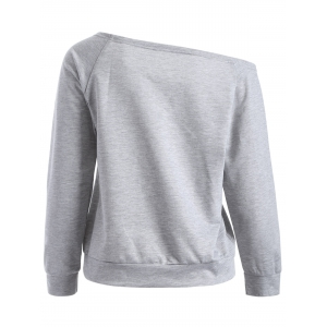 Scoop Neck Weekend Sweatshirt -