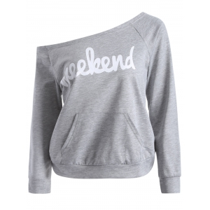 Scoop Neck Weekend Sweatshirt