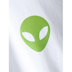 Alien Graphic Boxy Crop Top -