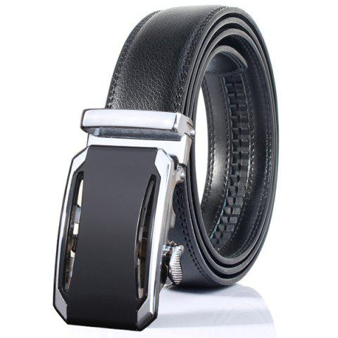 Chic Stylish Faux Leather Automatic Buckle Wide Belt