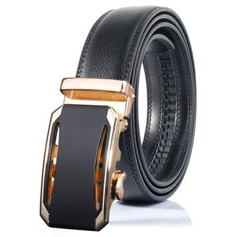 Latest Stylish Faux Leather Automatic Buckle Wide Belt