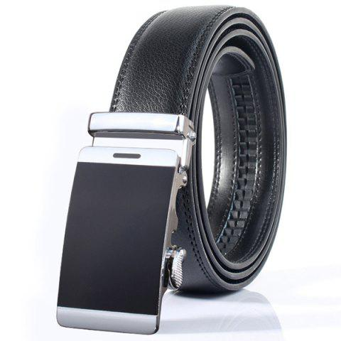 Cheap Stylish Smooth Surface Automatic Buckle Wide Formal Belt