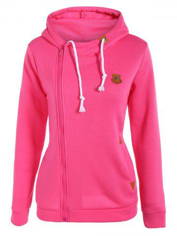 Shops Pullover Drawstring Hoodie ROSE RED XL