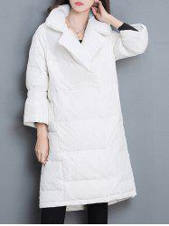 Balloon Sleeve Puffer Jacket -