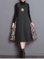 Chinese Embroidery Sleeveless Dress -