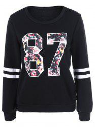 Pull-over imprimé 87 floral -