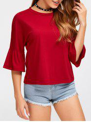 Loose Bell Sleeve T-Shirt
