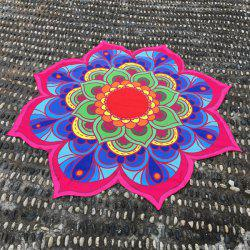 Lotus Flower Beach Throw -