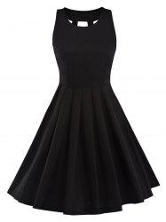 Black Pleated Dress Cheap Shop Fashion Style With Free Shipping ...