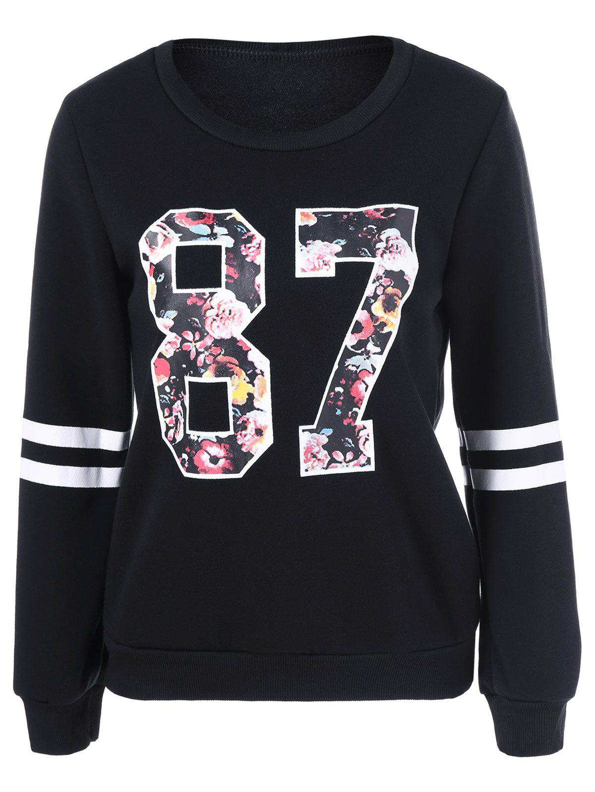 Pull-over imprimé 87 floral