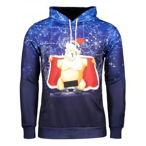 Long Sleeve Funny Christmas Patterned Hoodies