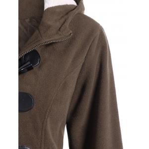Winter Hooded Duffle Coat -