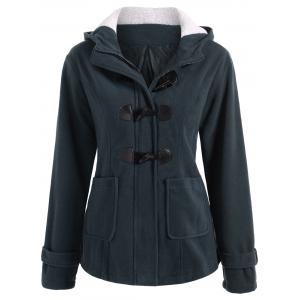 Winter Hooded Duffle Coat